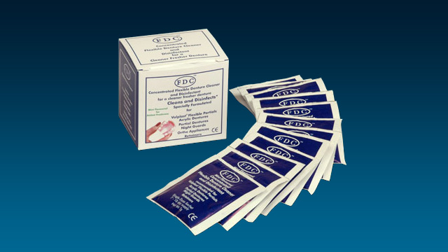 FDC Flexible Denture Cleaner and Disinfectant